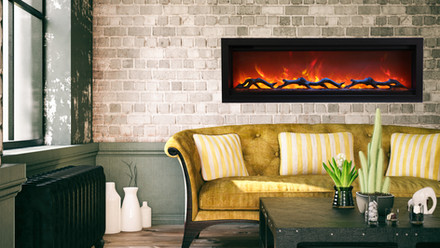 """Symmetry 50"""" Electric Fireplaces"""