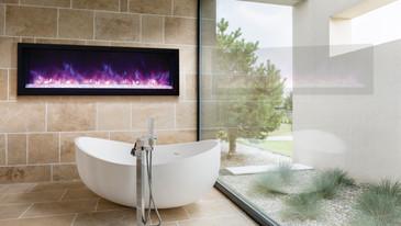 """Tru-View Extra-Slim 60"""" Fireplace"""