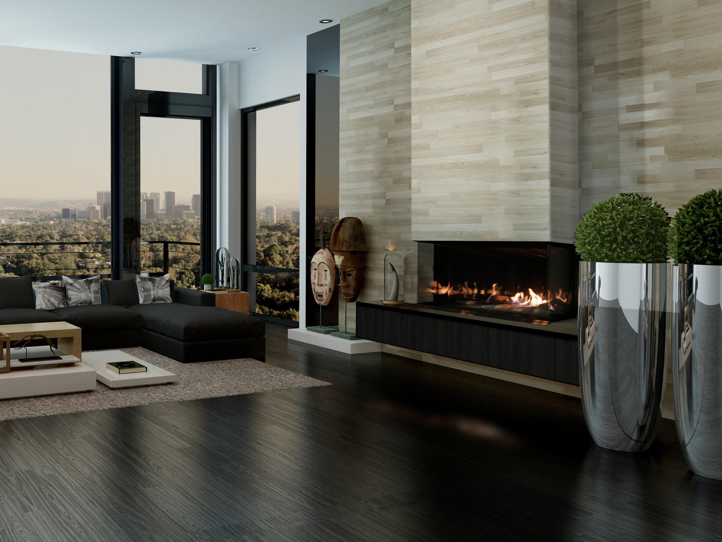 Galaxy 48 Gas Fireplace