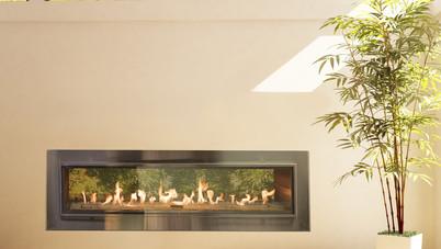 SV-36, SV-48, SV-60, SV-72 Indoor/Outdoor Gas Fireplace
