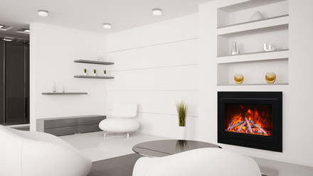 """Traditional 33"""" Insert Fireplace"""