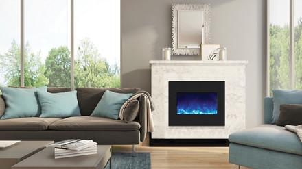 ZECL-26-2923-BG Zero Clearance Electric Fireplace