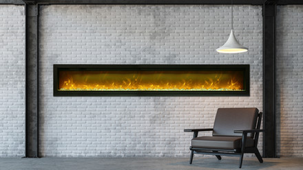 """Symmetry 100"""" Electric Fireplaces"""