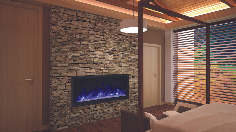 """Deep-XT 50"""" Fireplace"""