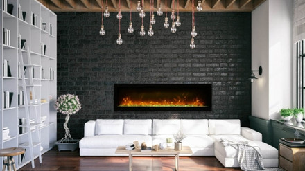 SYM-B Series Electric Fireplaces