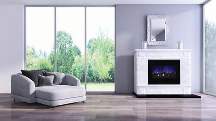 ZECL-30-3226-FM-BG Electric Fireplace