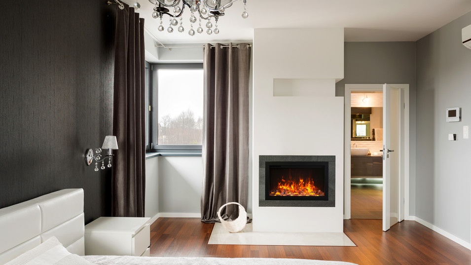 """Traditional 30"""" Fireplace"""