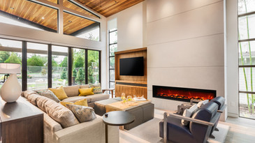 """Symmetry 88"""" Electric Fireplaces"""