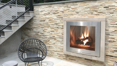 Algonquin Outdoor Gas Fireplace