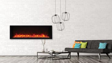 """Tru-View Extra-Slim 50"""" Fireplace"""