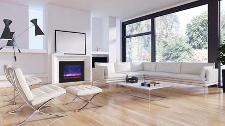 ZECL-39-4134-BG Electric Fireplace