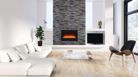 ZECL-33-3624-BG Electric Fireplace