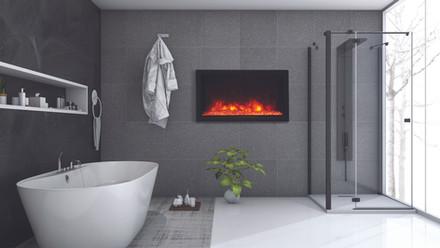 """Deep-XT 40"""" Fireplace"""