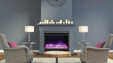 ZECL-31-3228-STL-SQR Zero Clearance Electric Fireplace