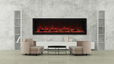 """Deep-XT 72"""" Fireplace"""