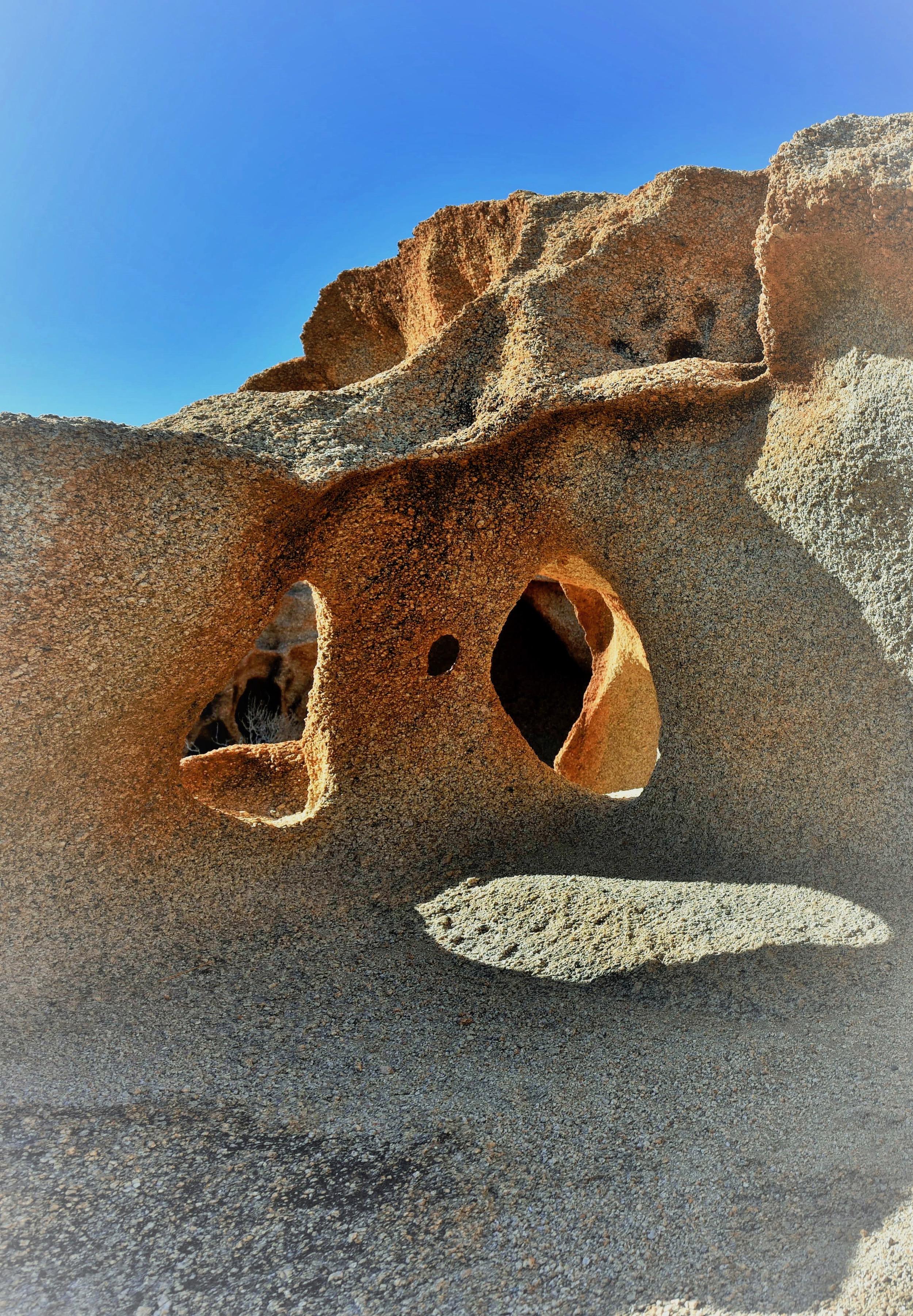 Felsskulpturen bei Tinkas