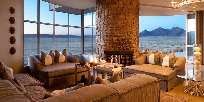 Sossusvlei Desert Lodge - Lounge