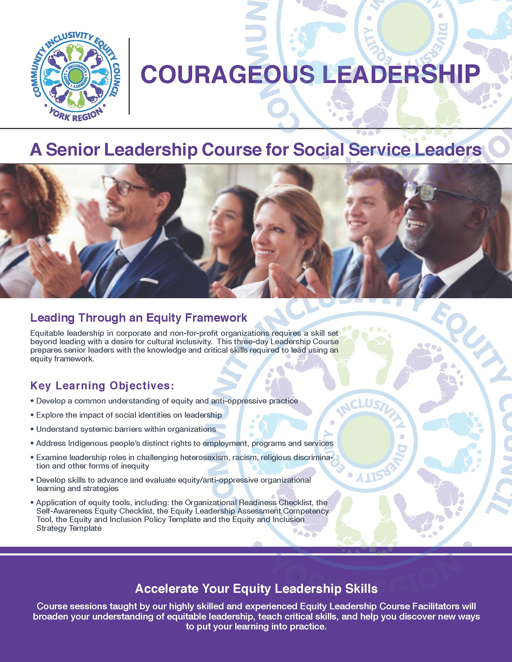 Courageous Leadership Course | ciecyr19