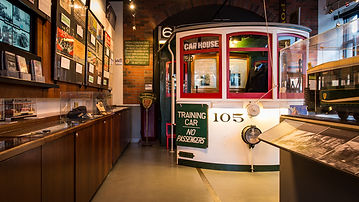 Learn about the San Franciso Railway Museum and other interesting transit attractions in the Transportation Museum.