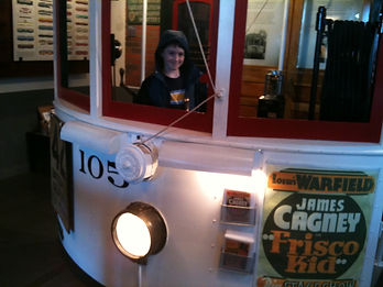 Museum Director Andrew Mancini has always been fascinated by transportation.