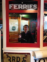 Transportation Museum Director Andrew Mancini exploring a fun museum.