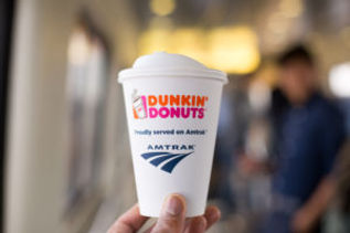 Learn about Amtrak's decision to begin serving Dunkin' Donuts in The Transportation Museum's Transit News section.