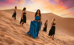 Desert Goddess Photoshoot   Dancers in the Desert Photography   Ethereal Portraiture   Fantasy Photo