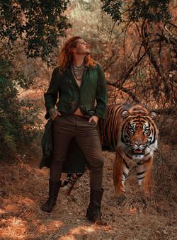 Musician Portraits   Album Covers   Surreal Portraiture   Tiger Fantasy Photoshoot