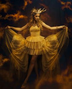 Golden Fairytale   Ethereal Portraiture   Fantasy Photoshoot   Fine Art Photography   Fairytale Phot