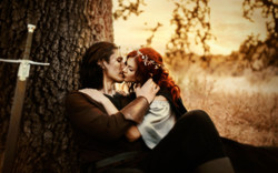 Lord of the Rings Couples Photoshoot   Fantasy Engagement   Fairytale Fine Art   Middle Earth Photog