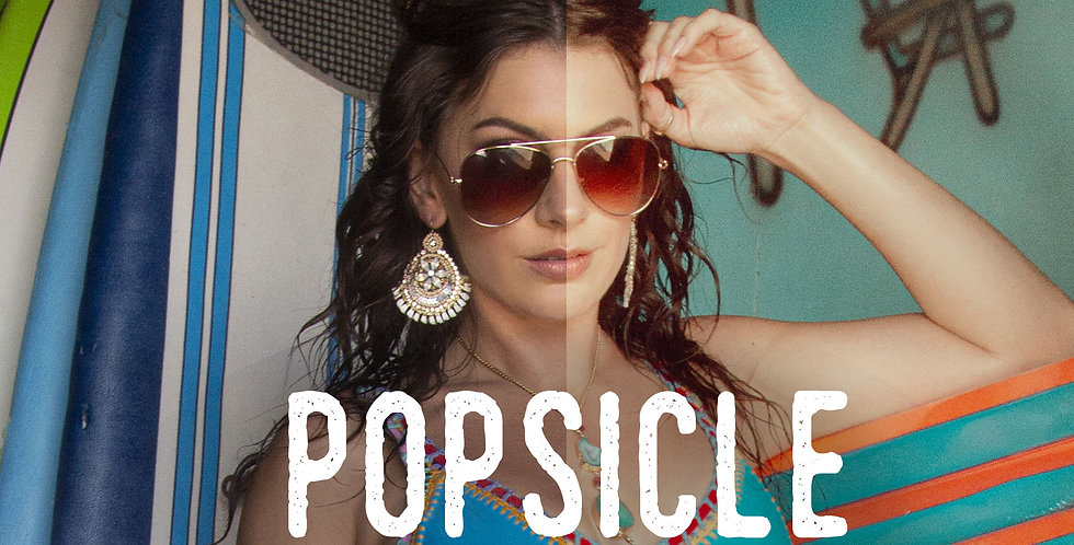 Popsicle Photoshop Action