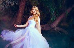Enchanted Wedding Dress   Fairytale Wedding Dress   Fantasy Bridal Photoshoot
