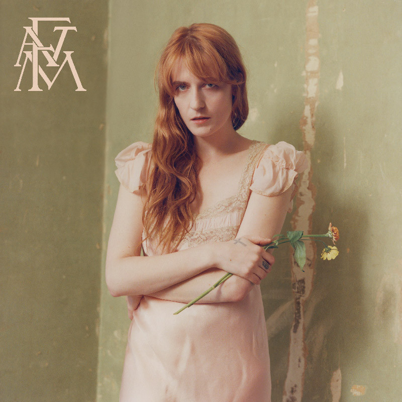 Florence and the Machine -Album Cover for High as Hope