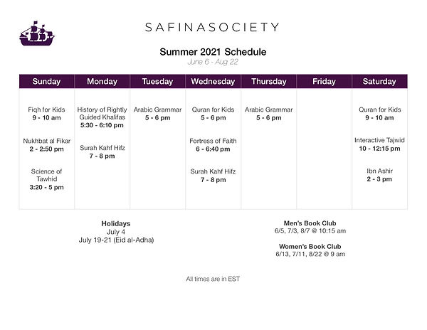 Schedule of Live Classes Summer 2021.JPG
