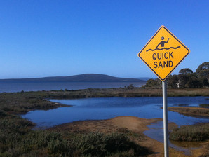 Caution: Spiritual Quicksand Ahead