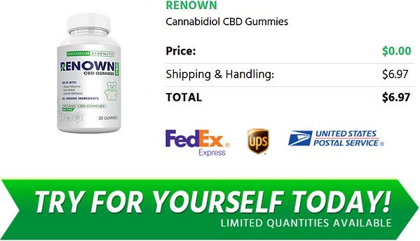 Renown CBD Price