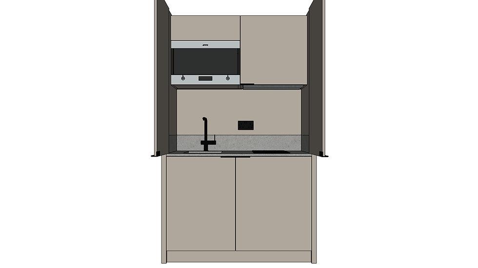 Mini Kitchen - Hinged Doors
