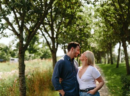 Hanna & Jens / Forlovelsesfotografering