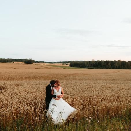 Bryllup på Glenne Gård     Nathalie & Henrik