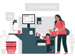 Como utilizar self checkouts em supermercados