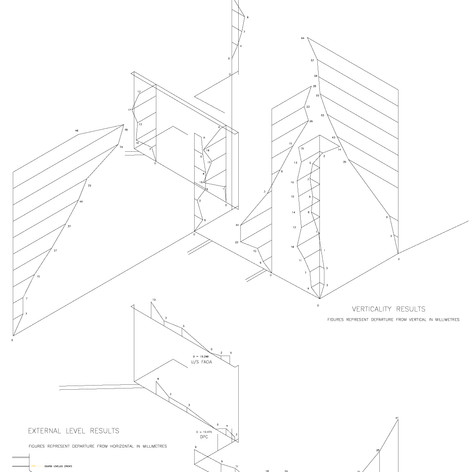 Verticality and Level Survey