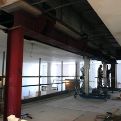 Adding Steelframe For Acoustic Doors