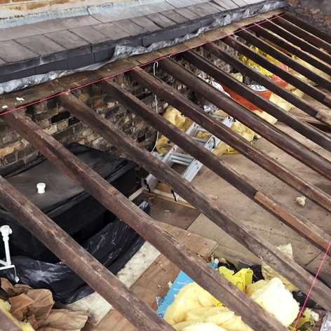 Roof Structure Before Works