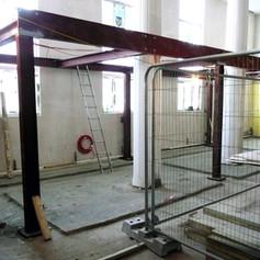 Mezzanine Steelwork