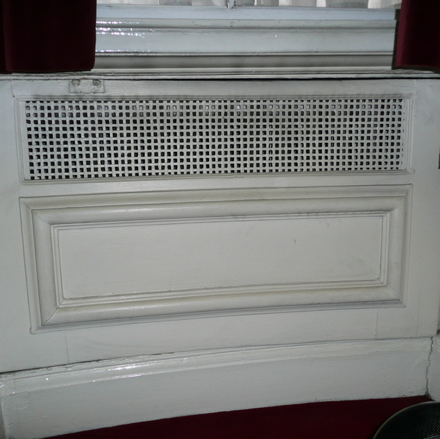 Radiator Covers Before Works