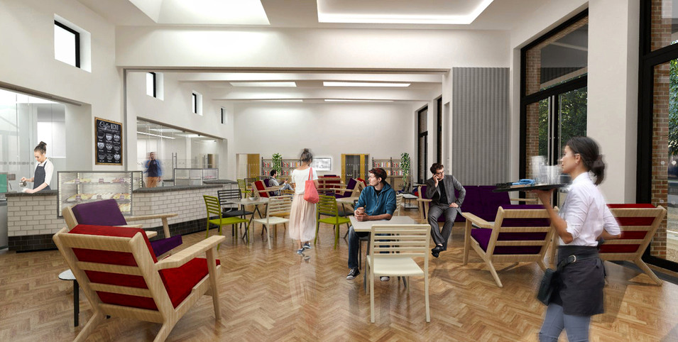 Proposed Cafe Area