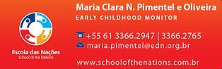Maria Clara Nascimento Pimentel e Olivei