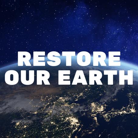 Restaurar nosso planeta - Concurso do Dia da Terra 2021