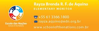 Rayza Brenda Rodrigues Francisco de Aqui
