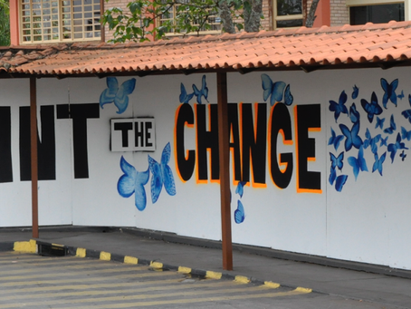 School of the Nations Joins the Campaign Paint the Change - Education Is Not a Crime